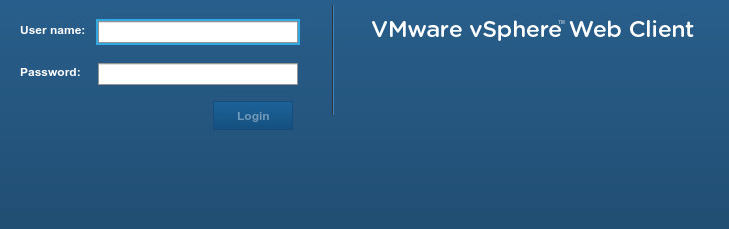 Building a vsphere system on windows server 2012